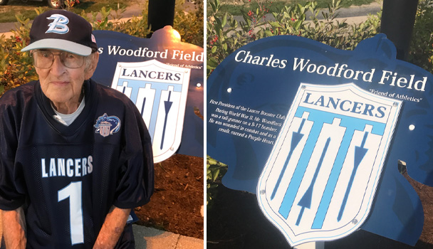 Charles Woodford Field Dedication