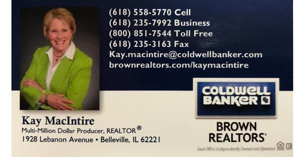 Coldwell Banker Kay MacIntire ad