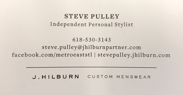 Steve Pulley, Independent Personal Stylist ad