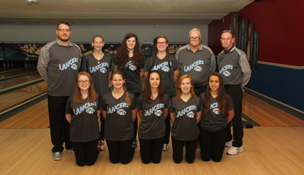 Girls Junior Varsity Bowling Team