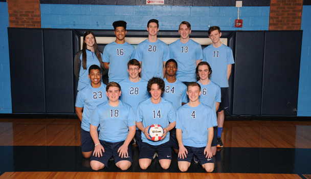 Boys Junior Varsity Volleyball Team