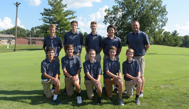 Boys Junior Varsity Golf Team