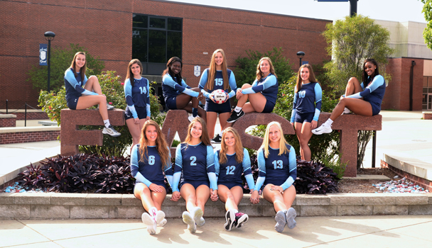 Girls Junior Varsity Volleyball Team