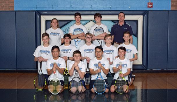 Boys JV Tennis Team