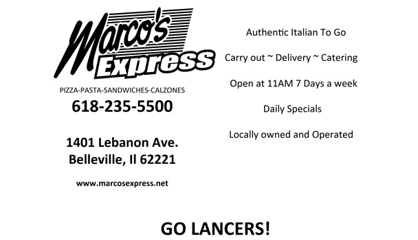 Marco's Express ad
