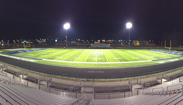 Turf Completed Nightime