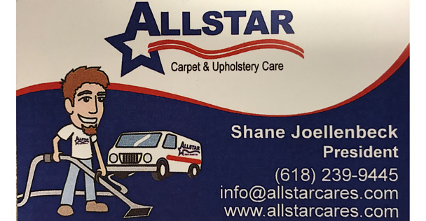 Allstar Carpet & Upholstery Care ad