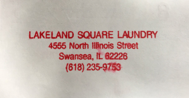 Lakeland Square Laundry ad