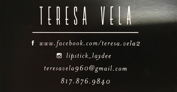 Teresa Vela ad
