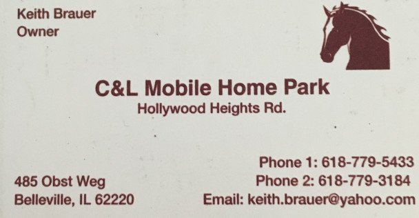 C&L Mobile Home Park ad