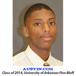 Austin Cox Class of 2014 University of Arkansas Pine Bluff