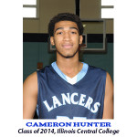 Cameron Hunter Class of 2014 Illinois Central College