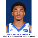 Darreon Reddick Class of 2014 Tennessee State University