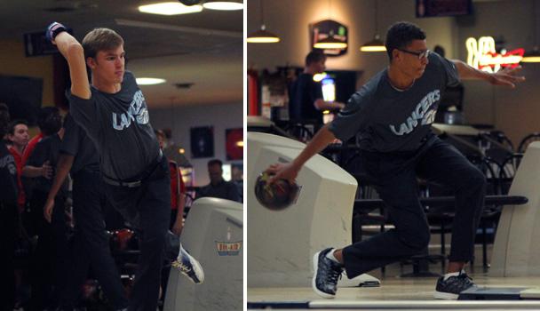 Boys Bowling Action Shots