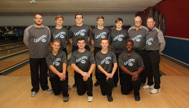 Boys Varsity Bowling Team