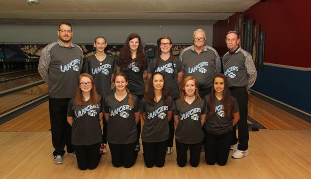 Girls Junior Varsity Bowling Team