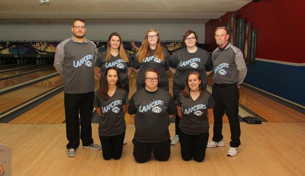 Girls Varsity Bowling Team