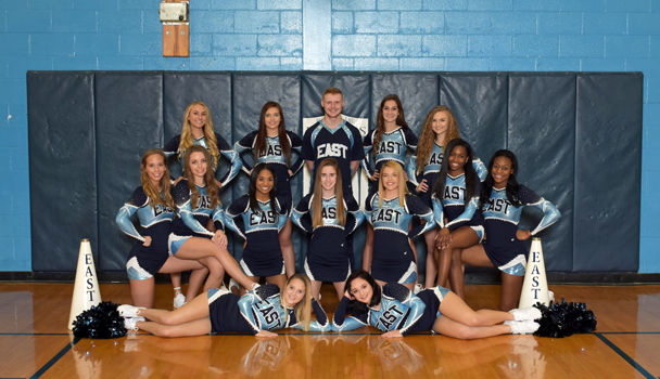 Varsity Basketball Cheer Team