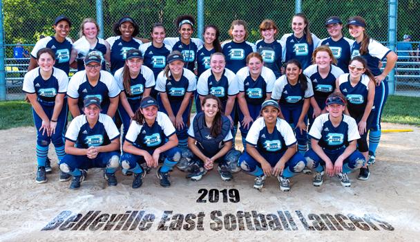 JV and Varsity Softball Team 2019