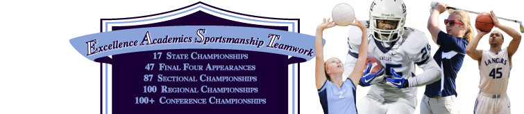 EAST Excellence Academics Sportsmanship Teamwork Banner