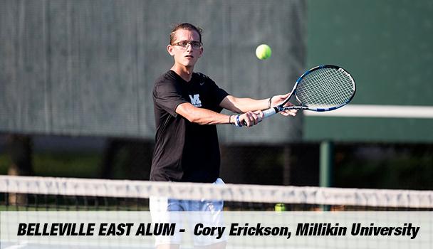Belleville East Alum Cory Erickson, Millikin University