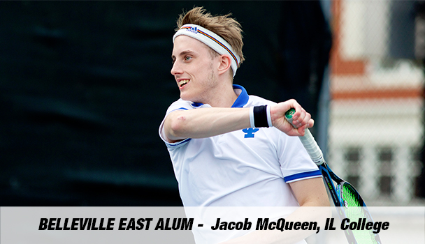 Belleville East Alum Jacob McQueen, IL College