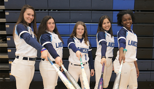 Freshmen Softball Players